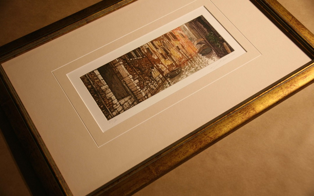 Conservation Framing: Ugo Baracco's Etching